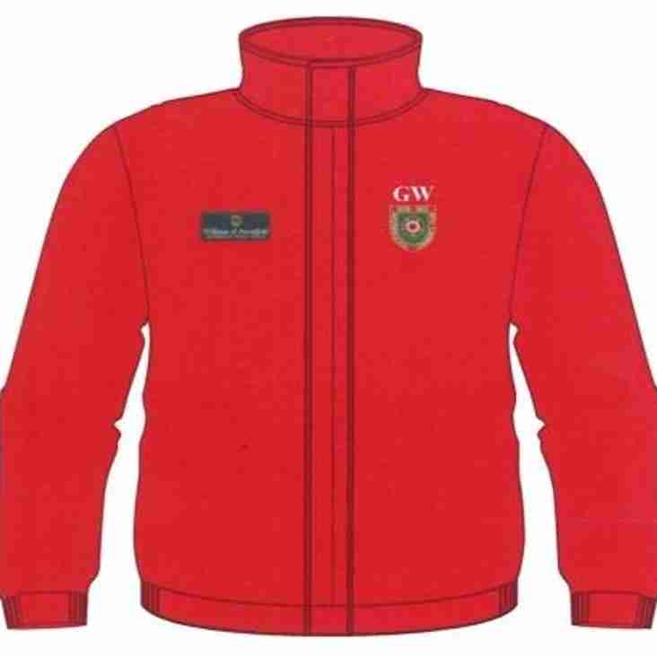 Order Your Personalised Club Jacket