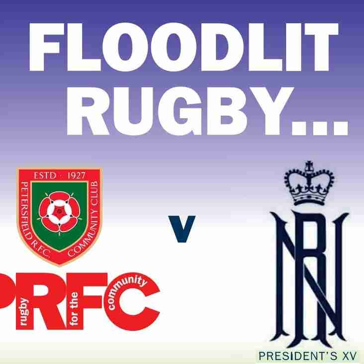 Floodlit Charity Rugby - December 11th