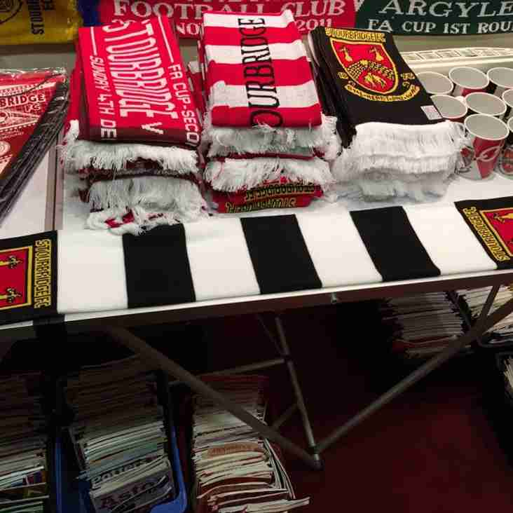Club Shop open this Thursday & Friday