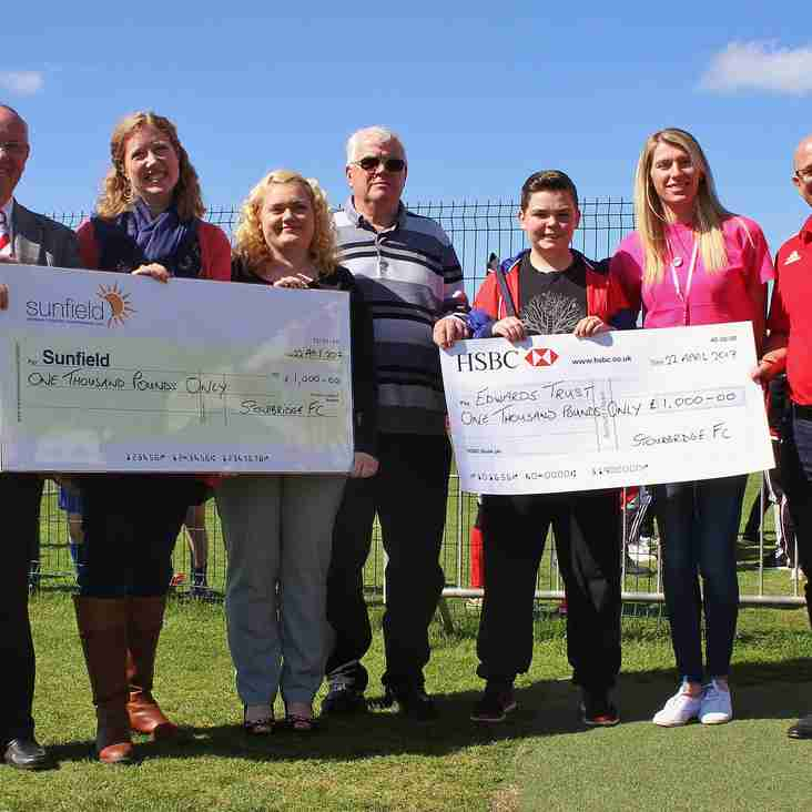 Glassboys Cup Success Helps Local Charities