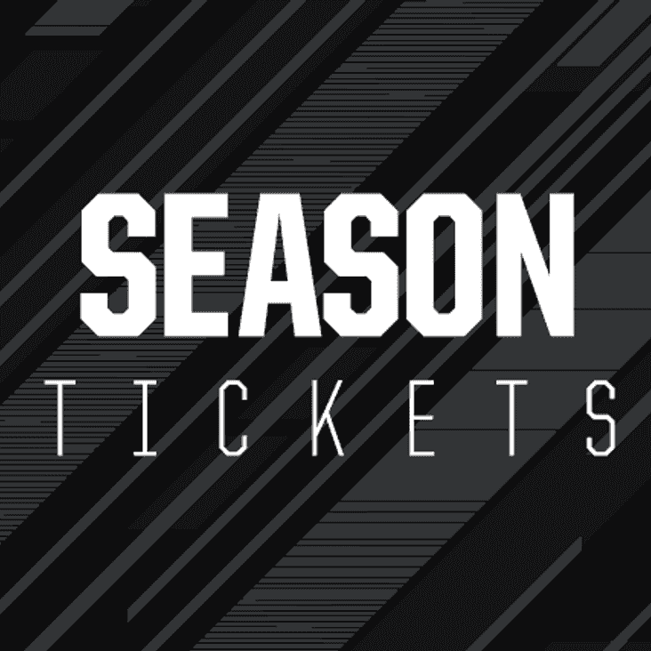Season & Flexi-ticket sales times this week