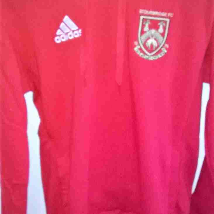 Club Shop - More red hoody tops received