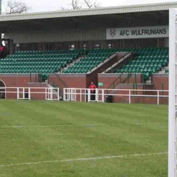 AFC Wulfrunians 2 Stourbridge 1