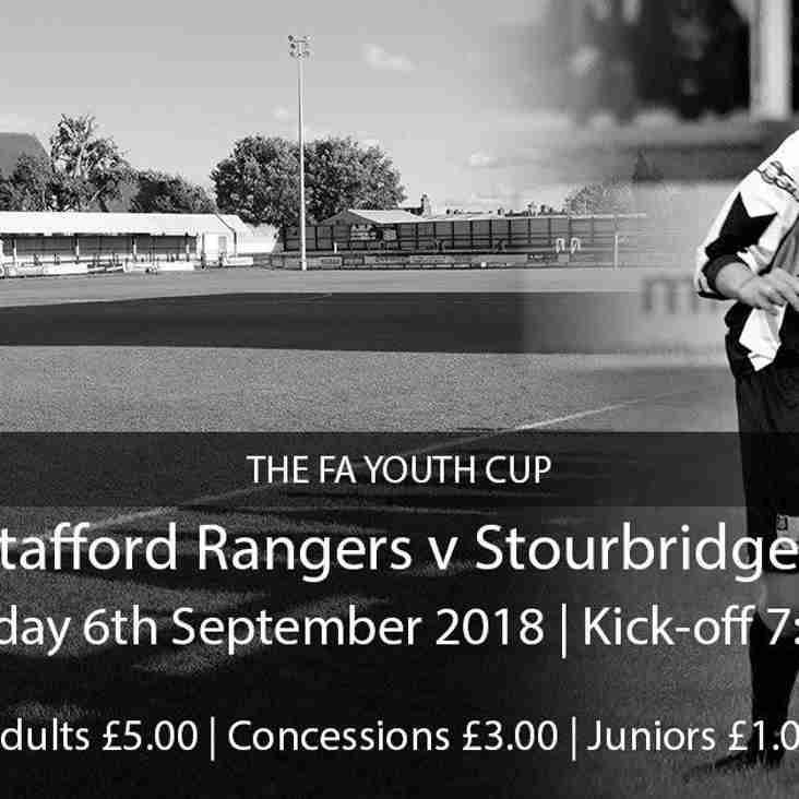 Stourbridge FC Youth and Academy news