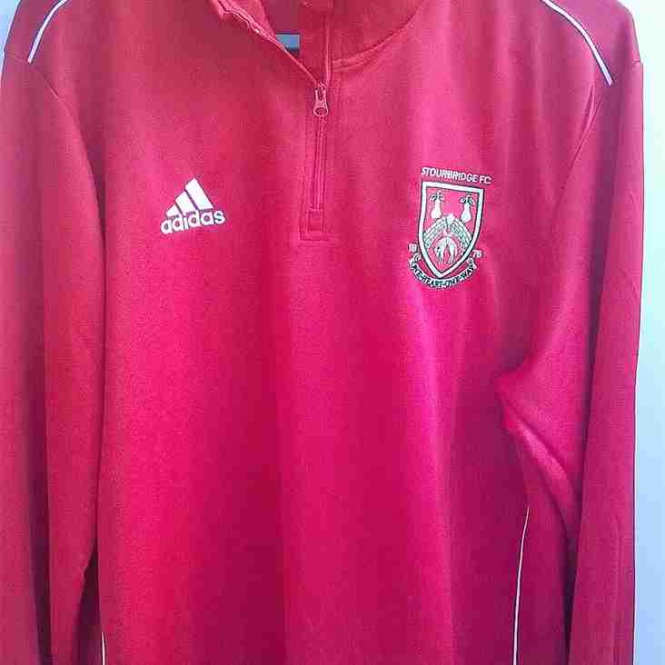 Club Shop: Large size Adidas Training Tops available to order