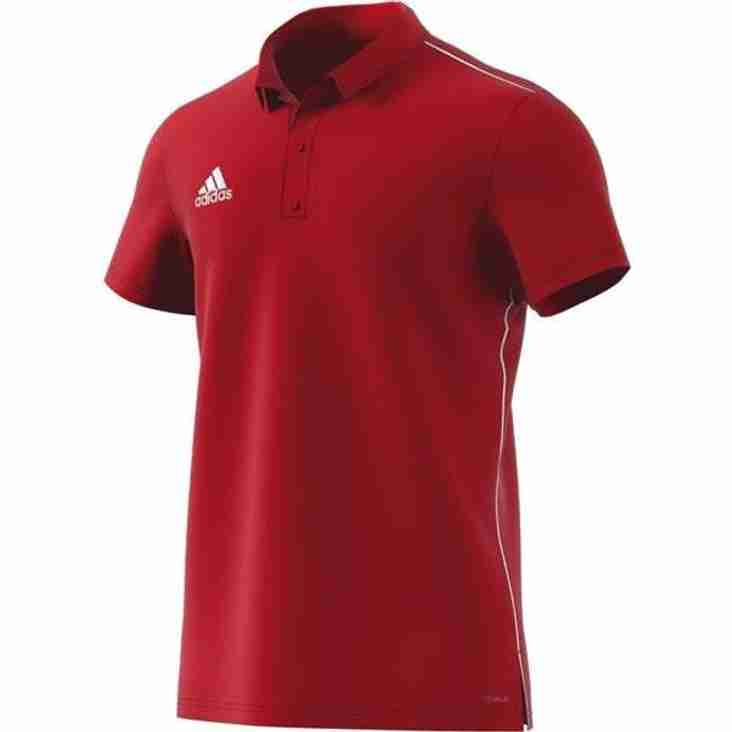 Club Shop: New Polo Shirts & Training Tops in stock