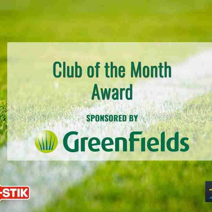 Glassboys win Club of the Month award for December