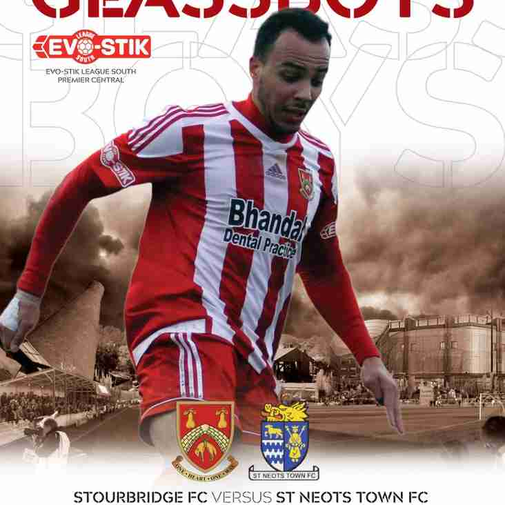 Match Preview - Stourbridge v St Neots Town