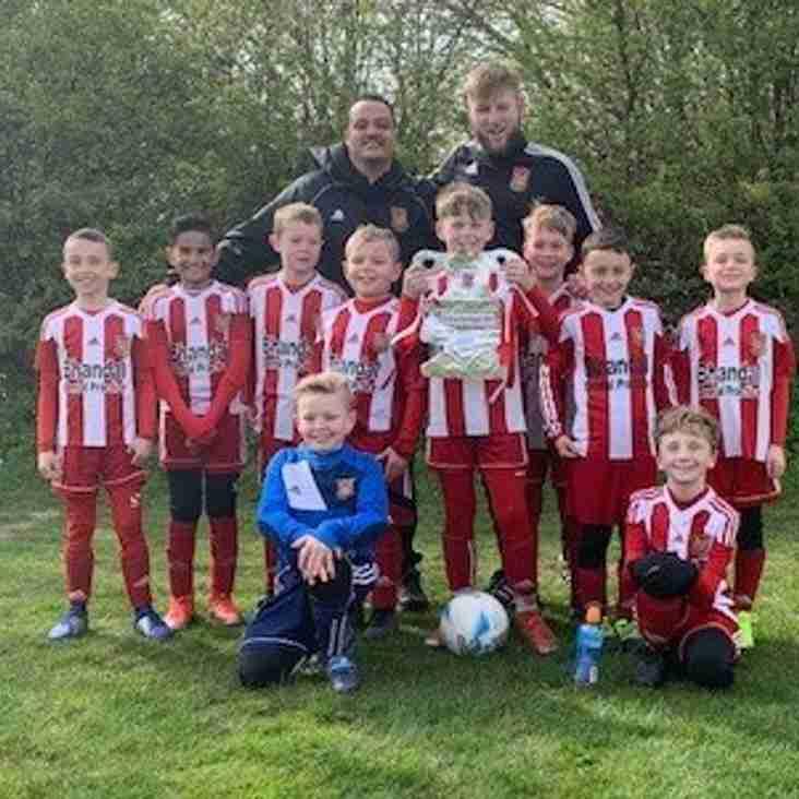Stourbridge under 9's seal Cup success