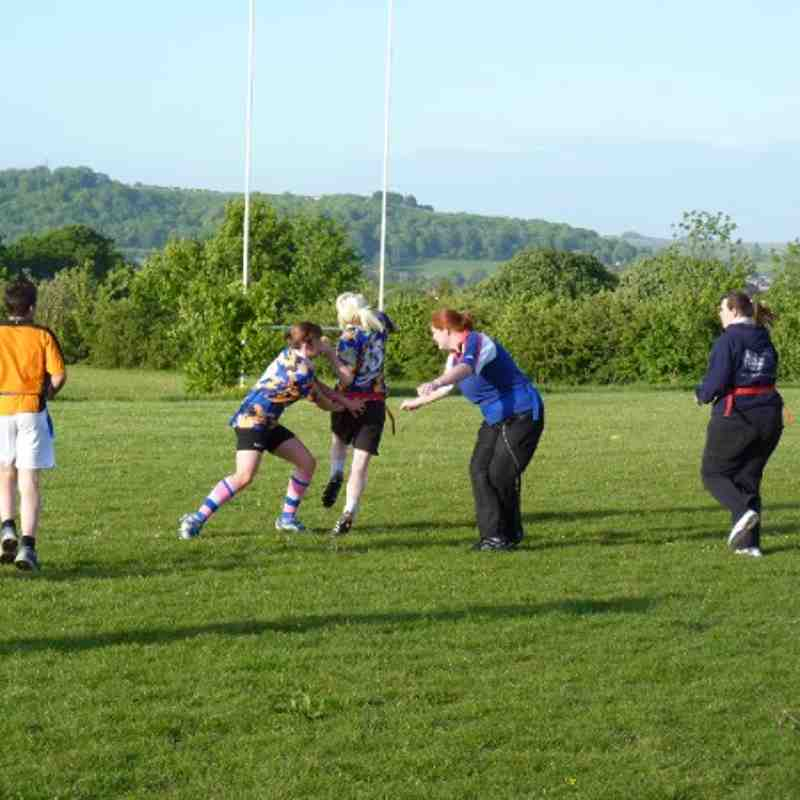 Ladies training May 2011