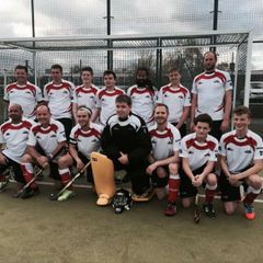 Mens cup hockey win vs Harlow 15.11.15