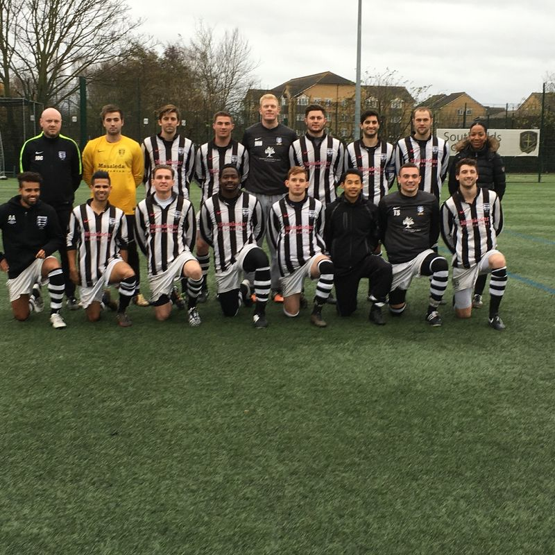 1st Team beat British Airways 1 - 2
