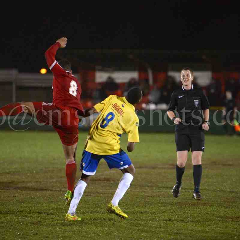 1st XI v Staines Town - 9th December 2014