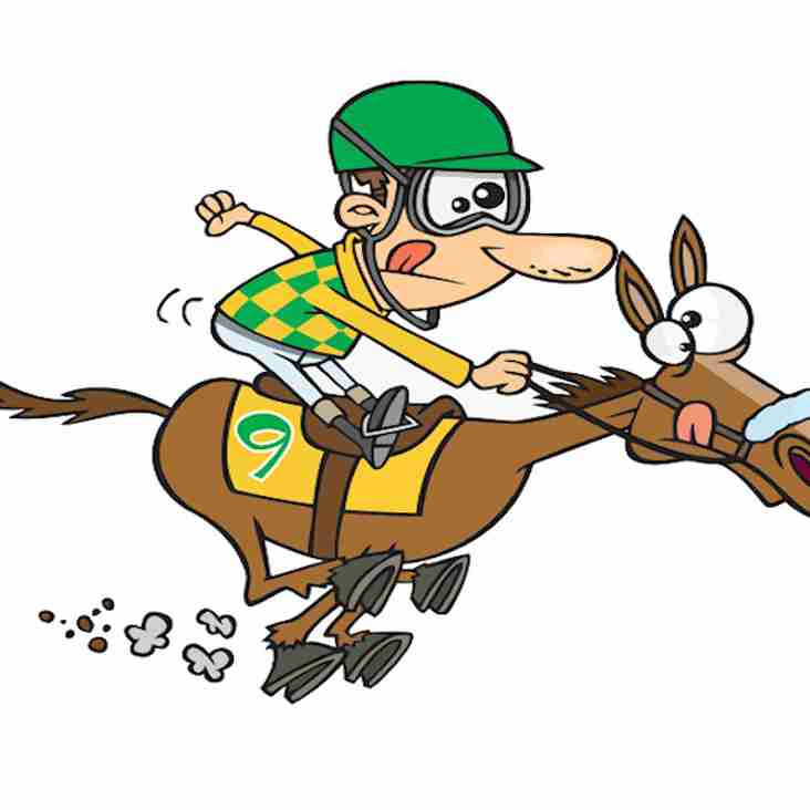 FUNDRAISING RACE NIGHT THIS MONTH