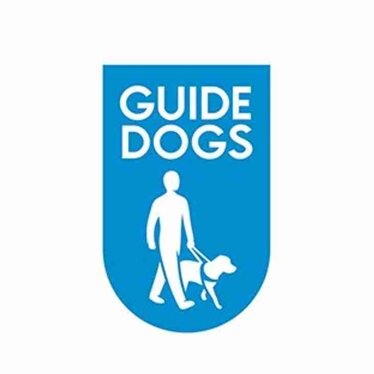GUIDE DOG EVENT AT OXFORD HOME GAME
