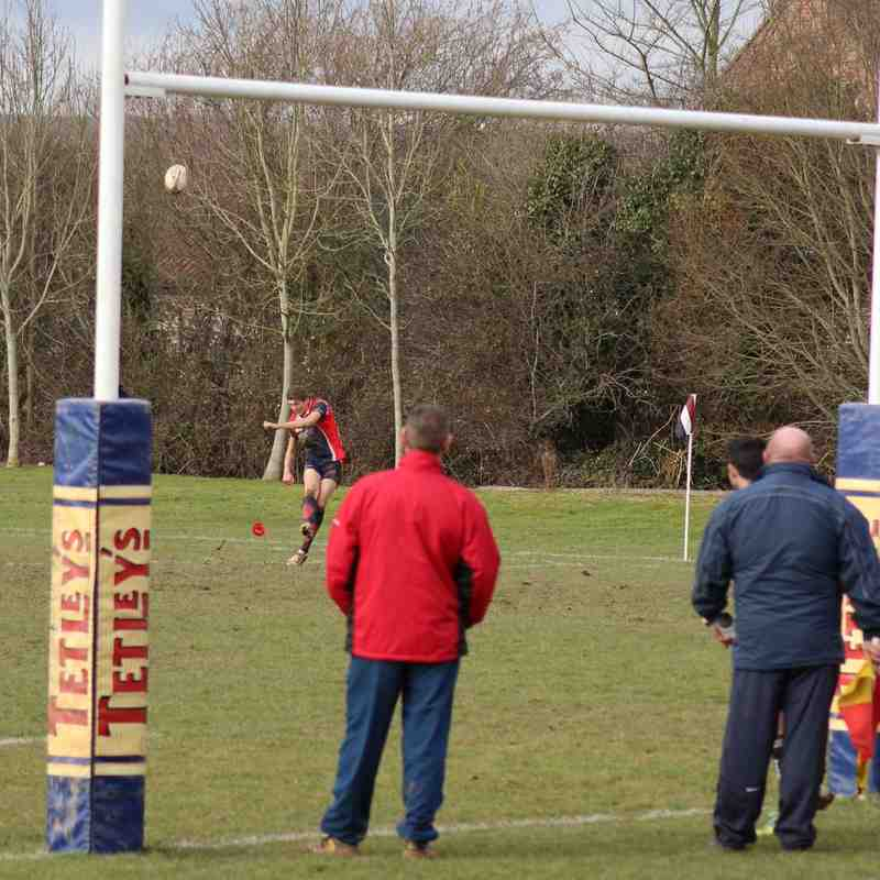 Taunton II vs Wivey I 14-02-15