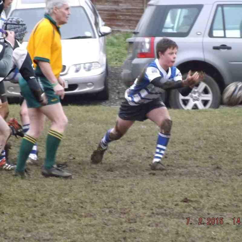 Colts 2014/15 150207 v Mkt Harborough