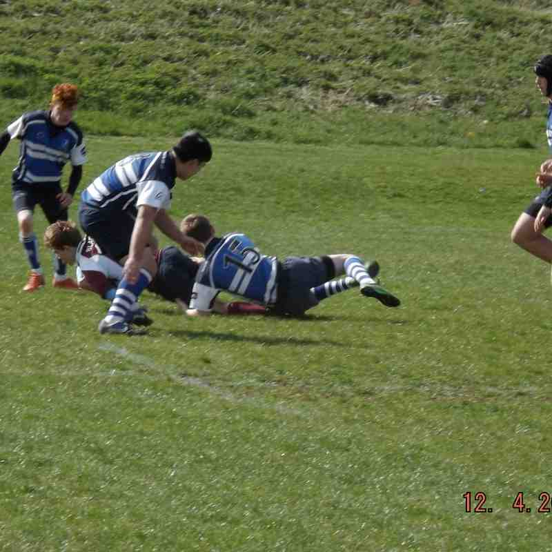 U16s 2014/15 150412 vs Bletchley