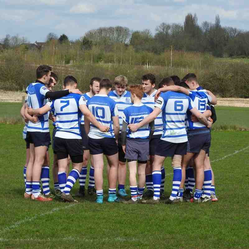 U17s 160409 v Rushden and Higham