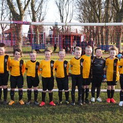 Goole Town Tigers Yellows U8  V Ryhill