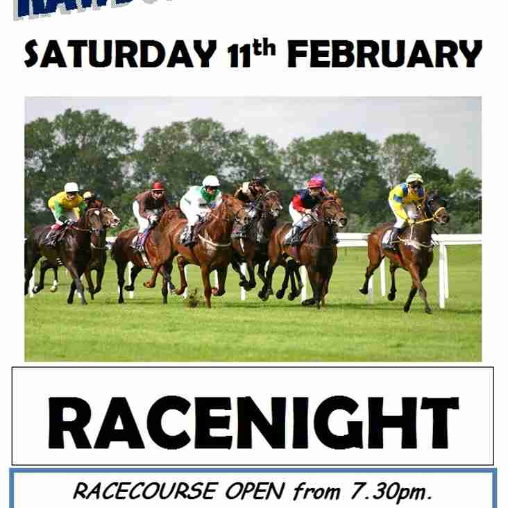 RACENIGHT - SAT 11th FEBRUARY