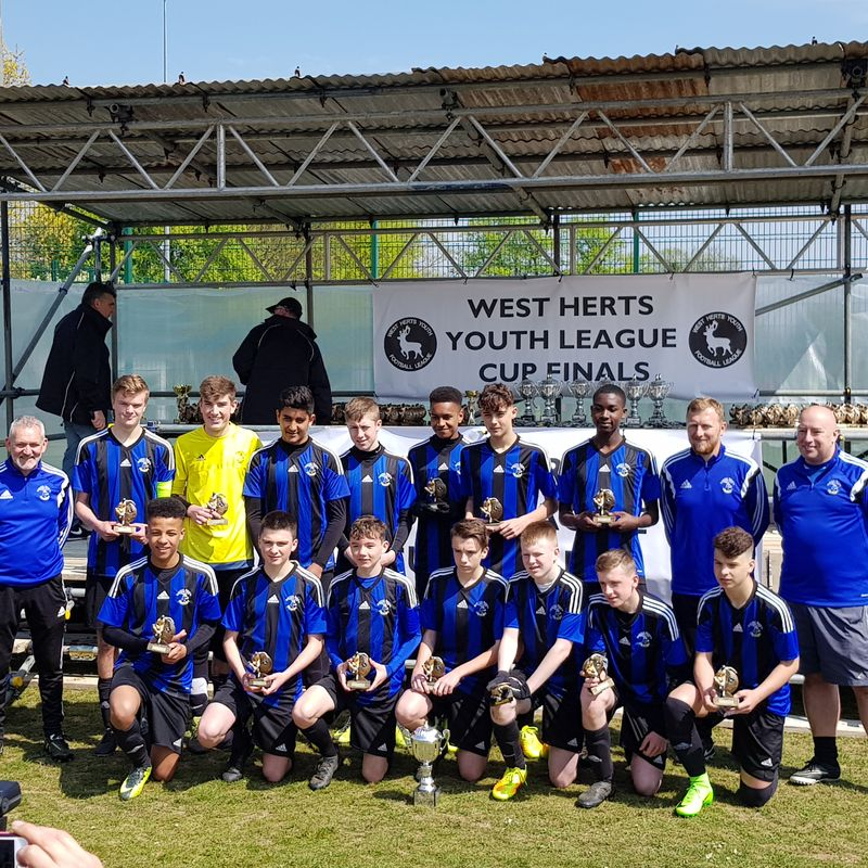UNDER 15 BLUE WIN LEAGUE CUP!!!