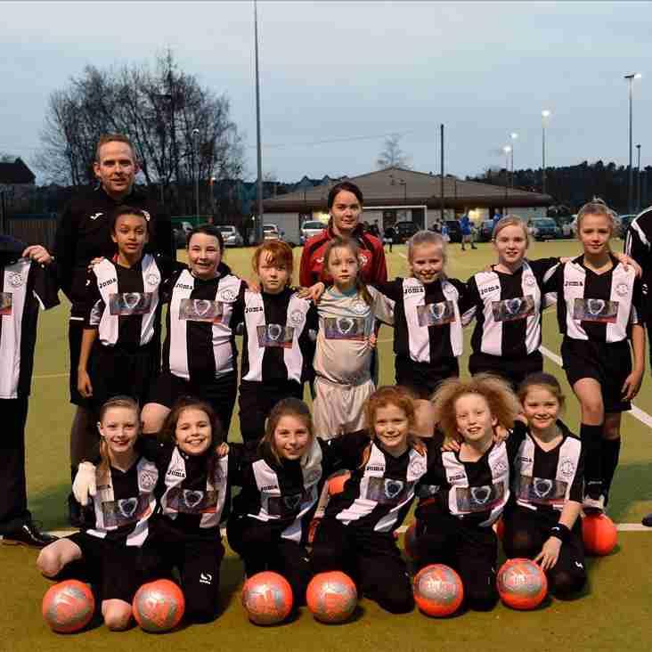 Home kit sponsor for U11 Girls