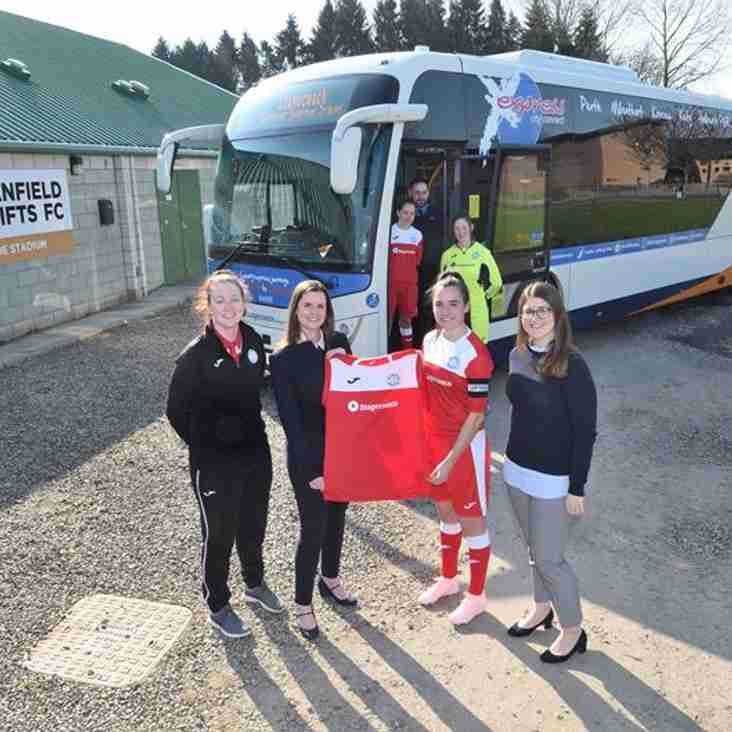 Stagecoach Ticket to Ride for Jeanfield Swifts Women