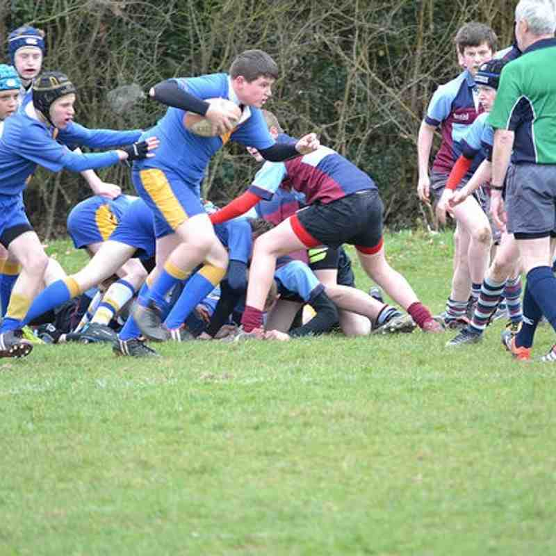 Vees U14 versus Barnet 22 March