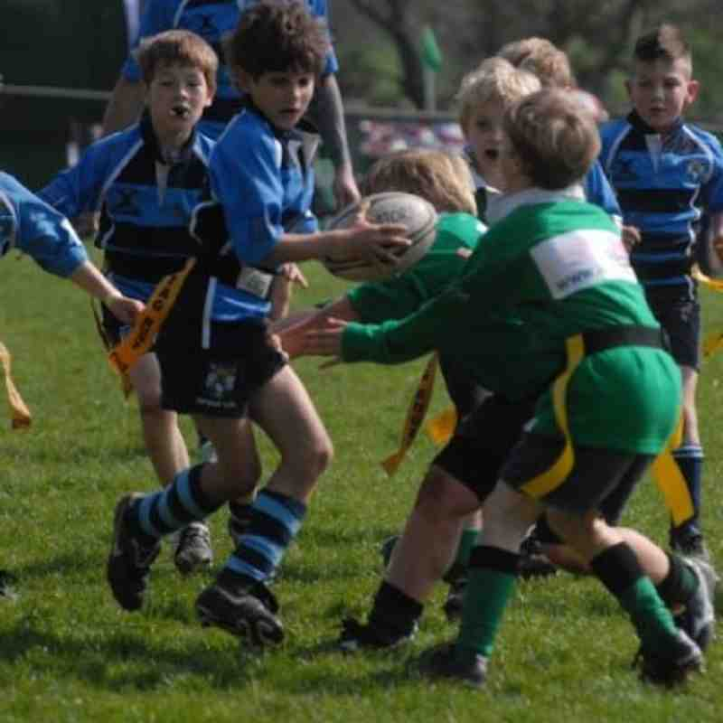Topsham U8 at Ivybridge Festival
