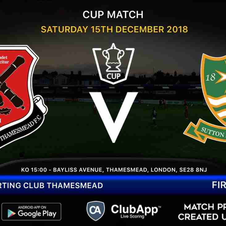 1sts play SC Thamesmead