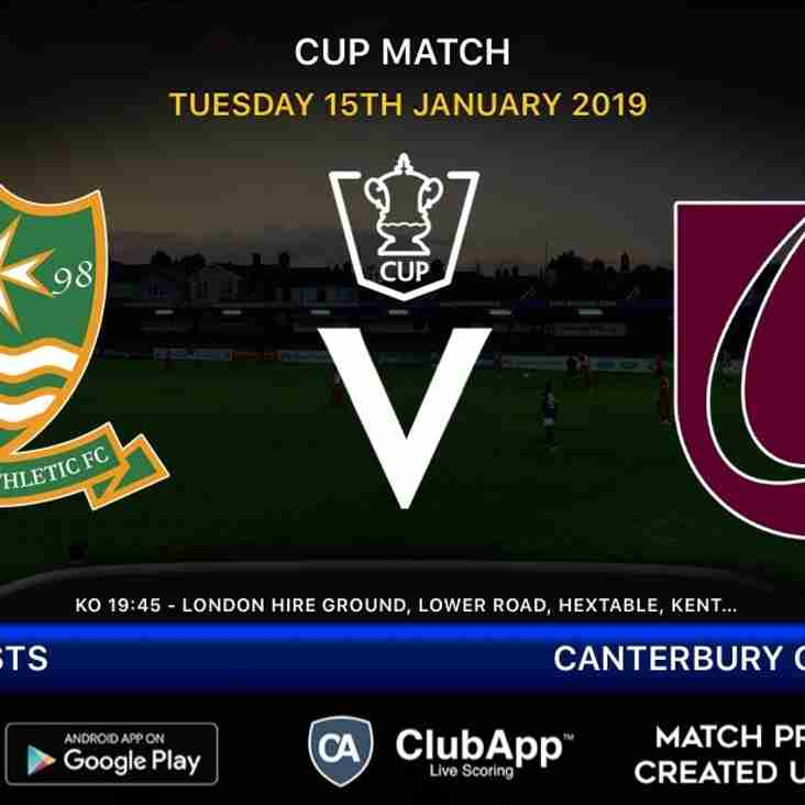 Firsts host Canterbury City