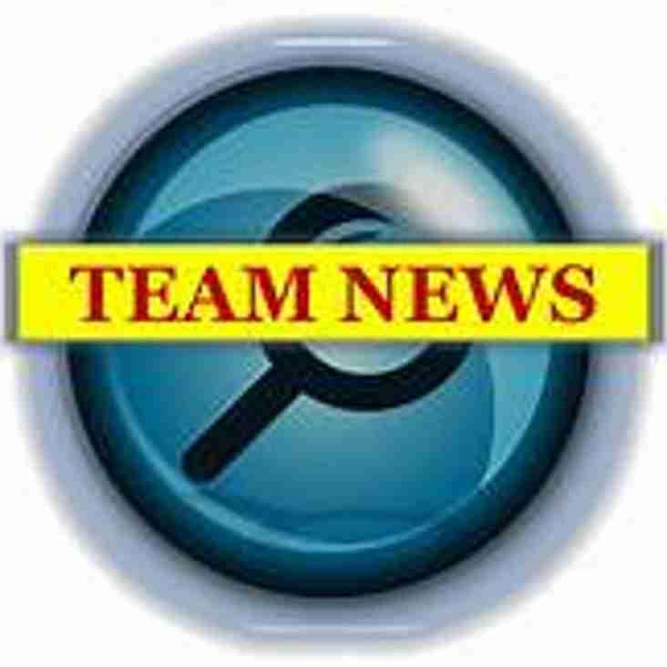 Team News!