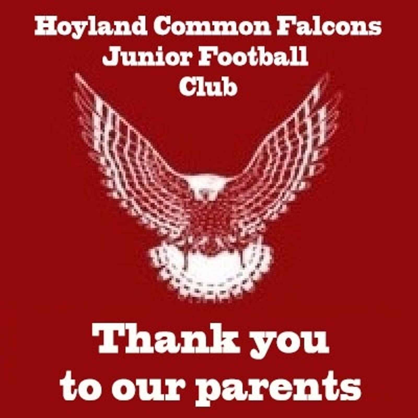 Thank you to all our parents within the club!