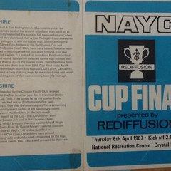Rediffusion cup FINAL 1967