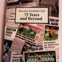 Brocton FC 75th Anniversary Book Available !