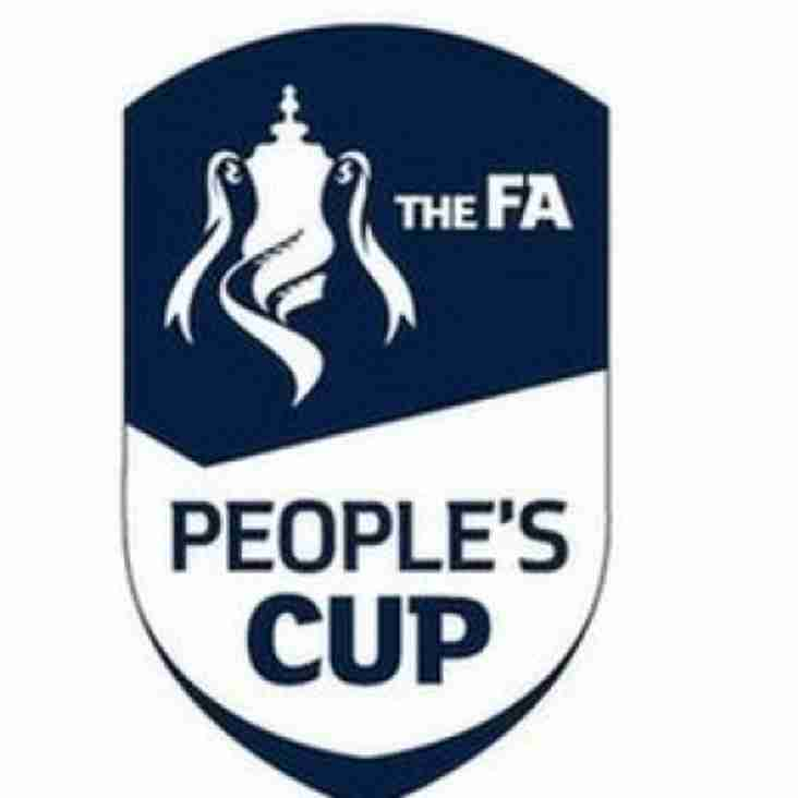 Bagders at FA Cup Final? U16's in Final 8 of People's Cup