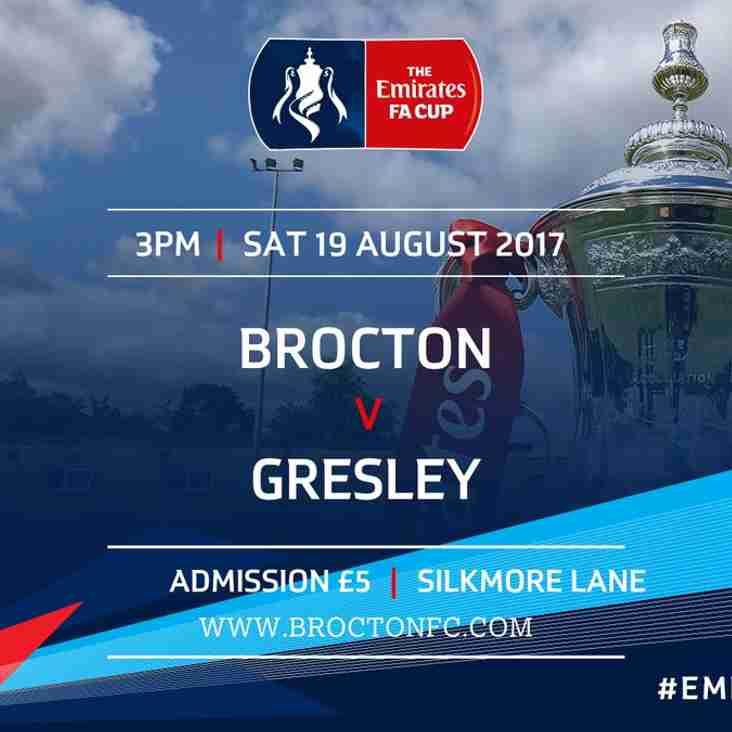 MATCH PREVIEW: FA Cup Prelim Round vs Gresley
