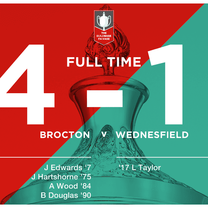 Badgers progress after ruthless second half - Full match report to follow...