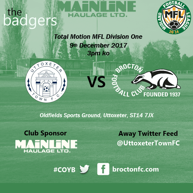 MATCH PREVIEW: Short trip to Uttoxeter today