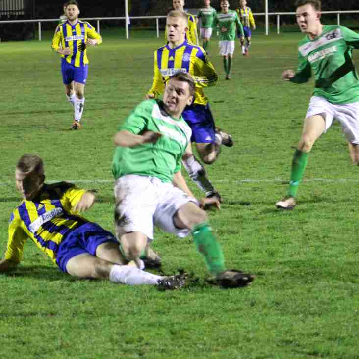 MATCH REPORT: Badgers fall away to Uttoxeter