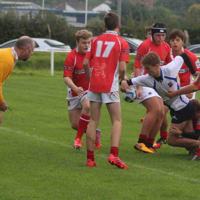 Winnington Park Vs Whitchurch U15's 2017