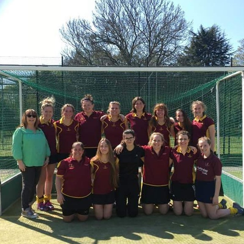 Ladies 1st XI beat Leighton Buzzard 2 0 - 3