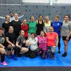 Naisilla innostava treenileiri Eerikkilässä!