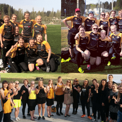 Naisten 7-rugbykausi ohi - Warriors Black sarjan toinen!