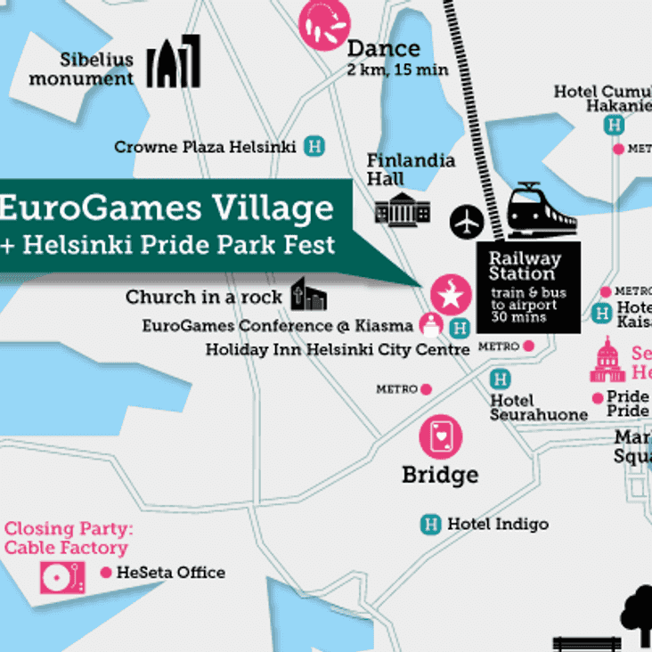 Warriors today in Eurogames / Pride village!