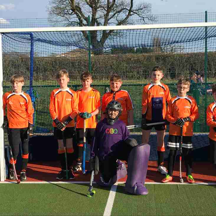 U12 boys compete at Wotton-under-Edge