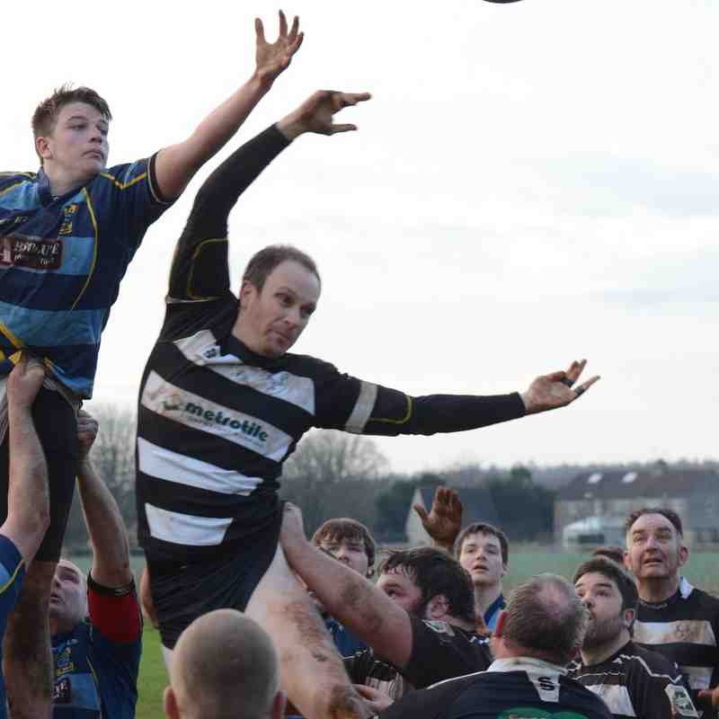 3rd XV vs Melksham 16 Jan 2016