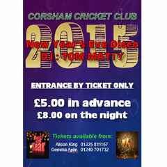New Year's Eve Disco in the Clubhouse