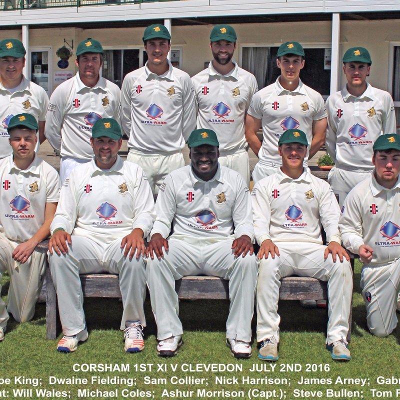 Clevedon CC - 1st XI 174/5 - 172/4 Corsham CC - 1st XI
